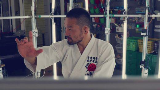 格闘家・菊野克紀選手の3Dスキャンの様子を撮影しました!