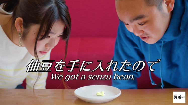 【コント】ドラゴンボールの仙豆を手に入れたので